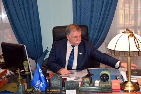 Член Общественной палаты области, полковник ФСБ в запасе Владимир Незнамов