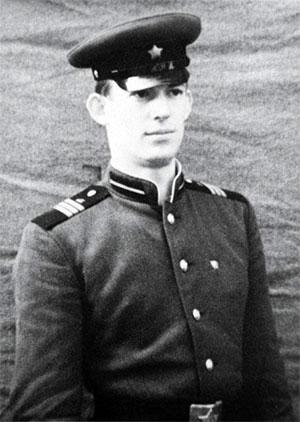 1966 год, ГДР.  Владимир Шумейко во время прохождения срочной службы