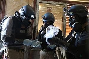 Имитация химической атаки в Сирии