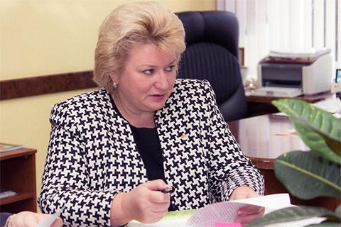 Уполномоченный по правам человека в Чувашии Надежда Прокопьева