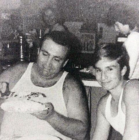 Рой Демео с сыном