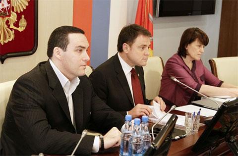 Александр Невский и Владимир Груздев