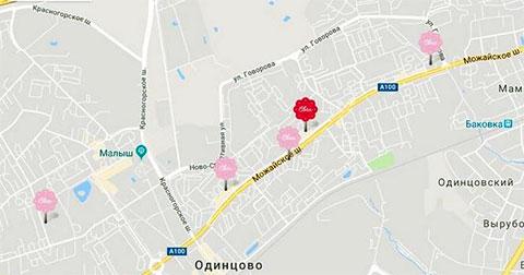 Сеть кондитерских Вялкова в Одинцово