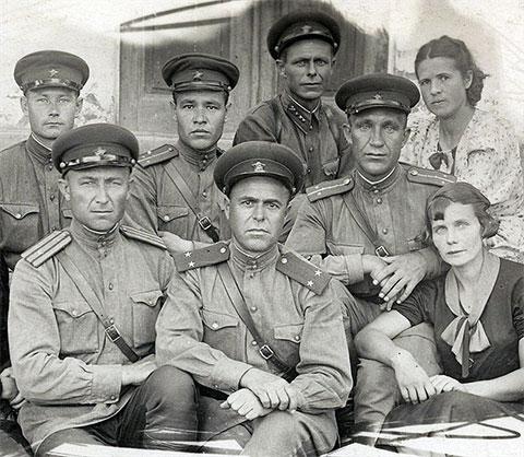 Офицеры-пограничники НКВД СССР