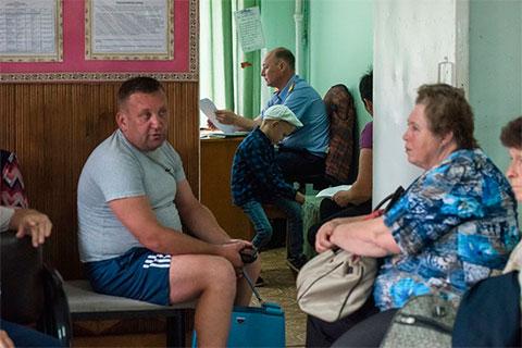 Игорь Комиссаров на встрече с жителями Псебая