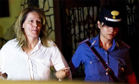 Раффаэлла Де Алтерио - арест