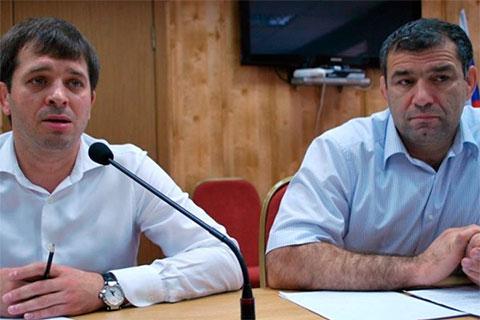 Сагид Муртазалиев и его ближайший соратник и ставленник Андрей Виноградов