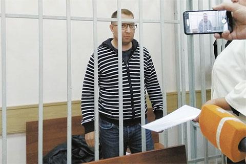 Виктор Шафорост в суде