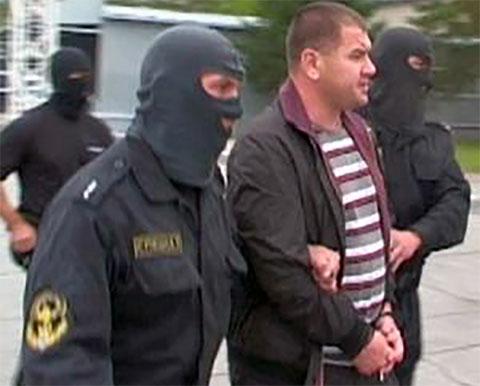 Задержание Юрия Масленникова