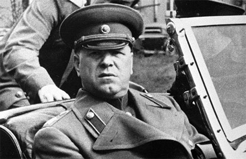 Маршал Советского Союза Г.К.Жуков