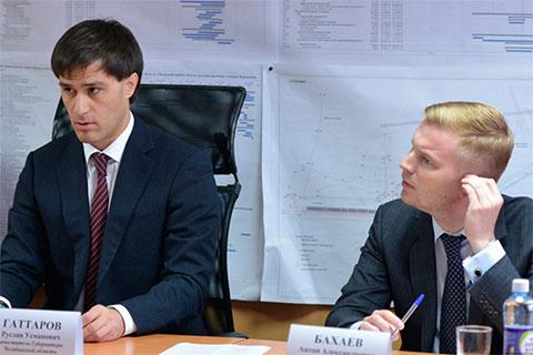 Руслан Гаттаров и Антон Бахаев