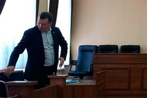 Максим Балацкий в суде