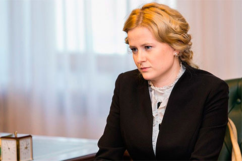 Глава Агентства международного сотрудничества Челябинской области Ольга Алейникова