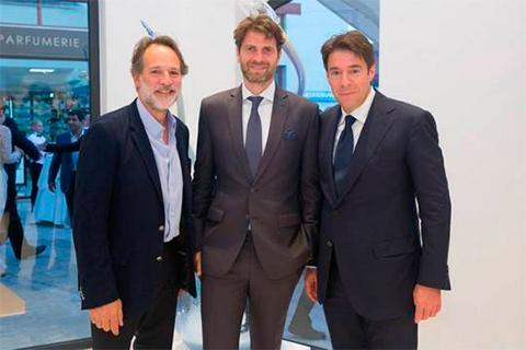 Франсуа Графф и Эллиот Графф на открытии бутика GRAFF в Лимасоле
