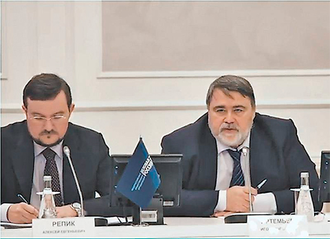 Алексей Репик и Игорь Артемьев