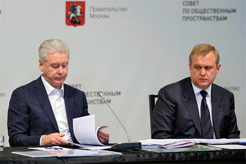 Сергей Собянин и Сергей Капков