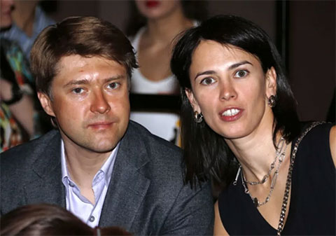 Александрина Маркво и Владимир Ашурков