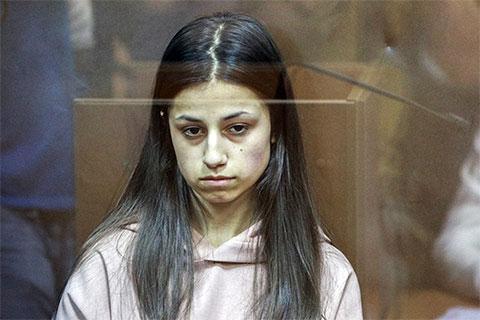Ангелина Хачатурян в суде