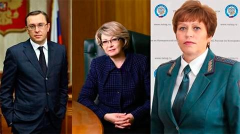 Слева: Сергей Аркелов, Светлана Андрющенко, Любовь Аршинцева