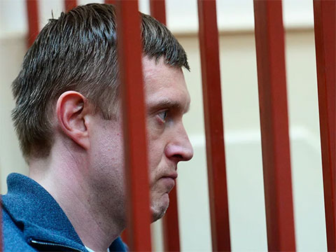 Дмитрий Сергеев в суде