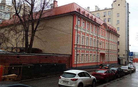 Здание в Старомонетном переулке, которое получил в свое пользование фонд «Я — гражданин»