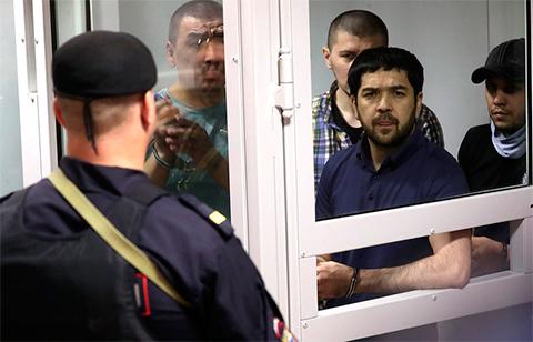 Члены банды GTA: Анвар Улугмурадов, Зафарджон Гулямов, Умар Хасанов и Шерджон Кодиров