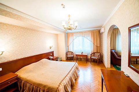 Номер в трехзвездочной гостинице «Даниловская»