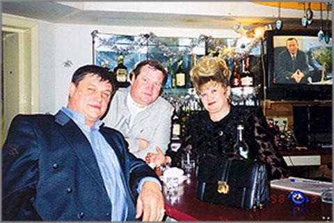Лидеры ОПГ «Ключевские» — Константин Ключевский (справа) и Евгений Жаров (слева)