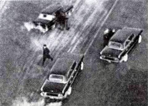 Момент покушения на Брежнева