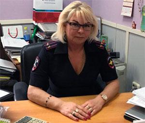 Светлана Бузукина — бухгалтер Красносельского УВД