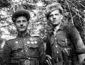 Боевики УПА из Дрогобычского района в лесу
