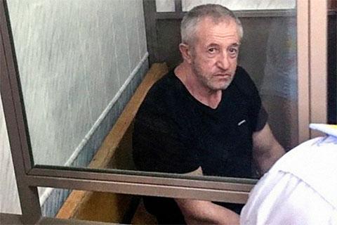 Валерий Чабанов в суде