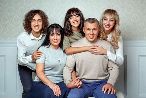 Семья Владимира Мунтяна