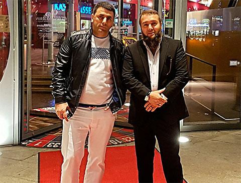 Слева: вор в законе Артем Саргсян (Артем Саратовский) и авторитет Хамзат Гастамиров (Шейх)