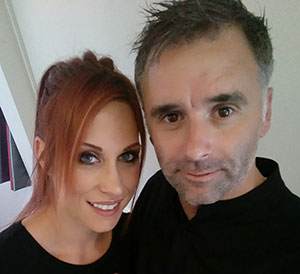 Дарина Мисикова и Роберт Клуж