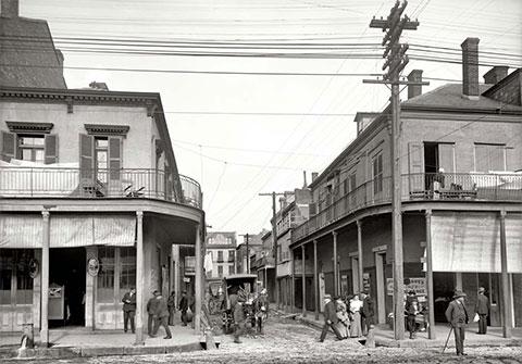 Новый Орлеан тех лет
