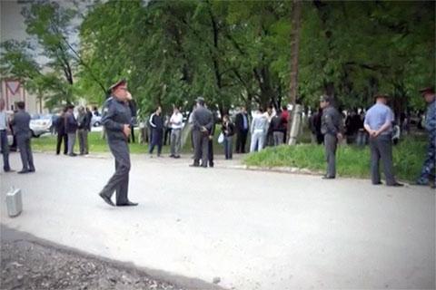 На месте убийства Шебзухова