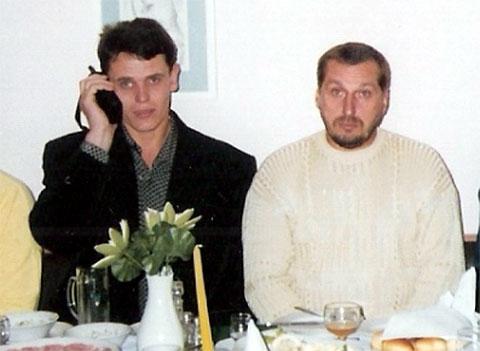 Слева воры в законе: Сергей Коваленко (Мамонтенок), Александр Тимошенко (Тимоха Гомельский)
