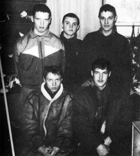 Первые участники банды Владимира Лабоцкого