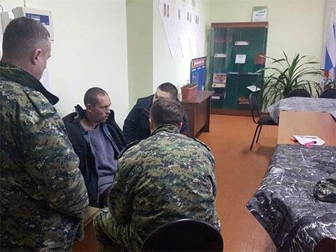 Евгений Забанов на допросе