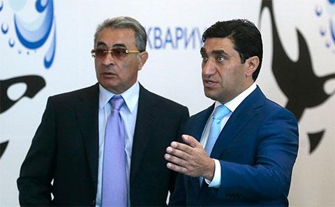 Справа: Год Нисанов иИльгам Рагимов