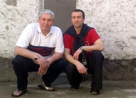 Слева: Омар Бекаев (Омар Уфимский) и Витя Француз Тираспольский