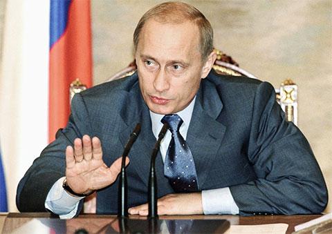 Владимир Путин - 2003 год