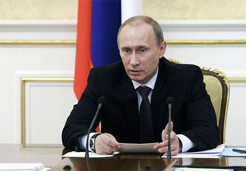 Владимир Путин - 2010 год
