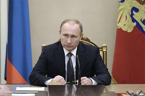 Владимир Путин - 2015 год
