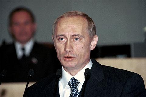 Владимир Путин - 2000 год