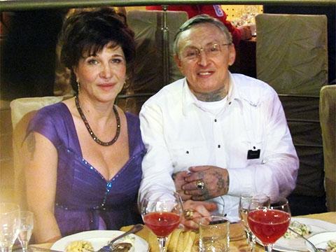 Александр Северов с женой Галиной