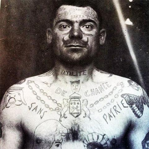 Татуировки Французского заключенного