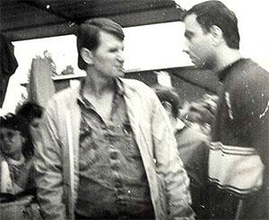 Слева в оры в законе: Эдуард Краснов (Эдик Красный) и Гагик Асатурян (Гагик Ростовский)