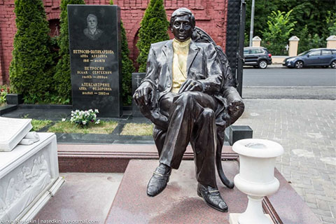 Могила Владимира Оганова